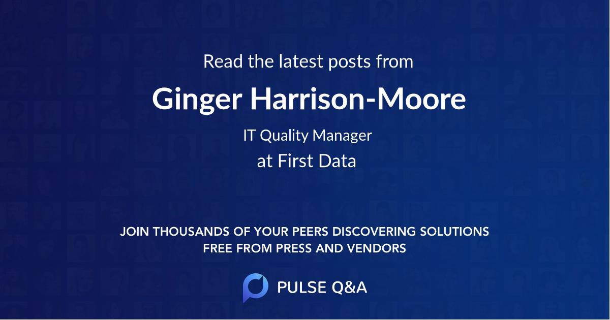 Ginger Harrison-Moore