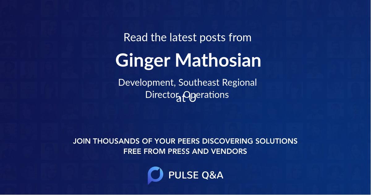 Ginger Mathosian