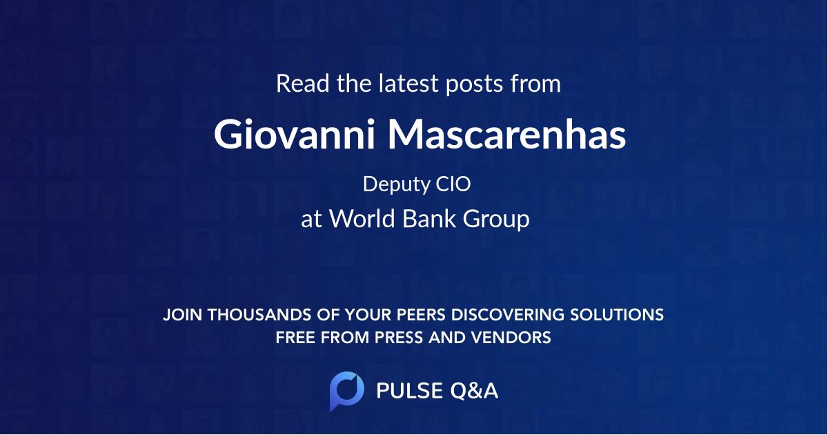 Giovanni Mascarenhas