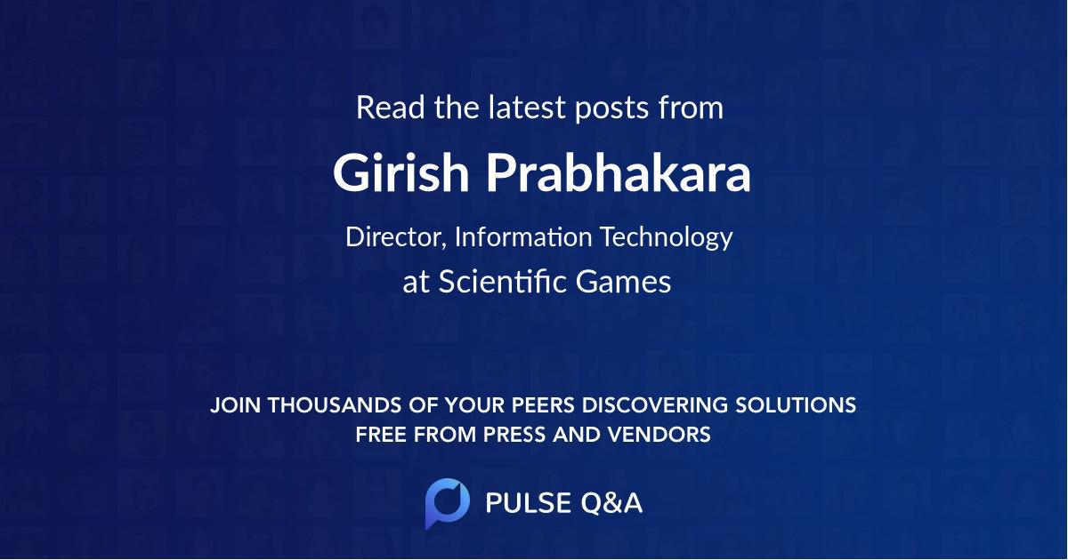 Girish Prabhakara
