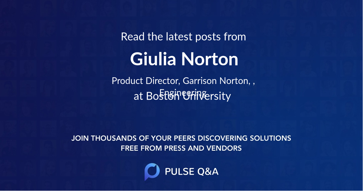 Giulia Norton