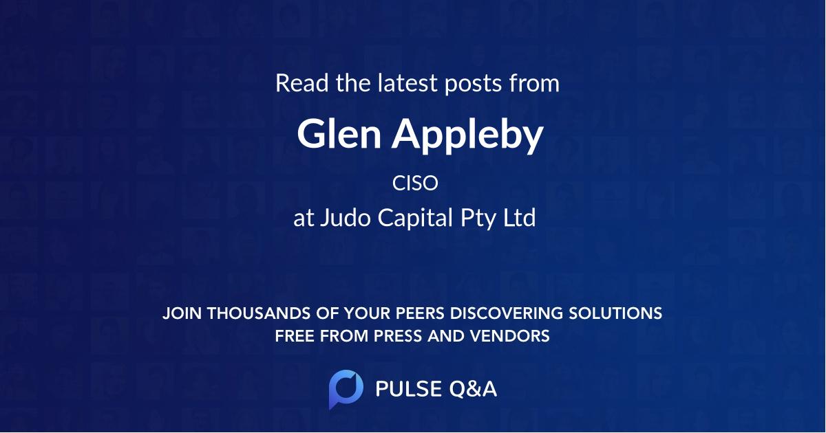 Glen Appleby
