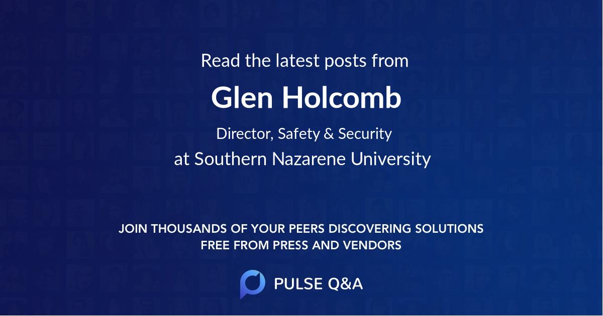 Glen Holcomb