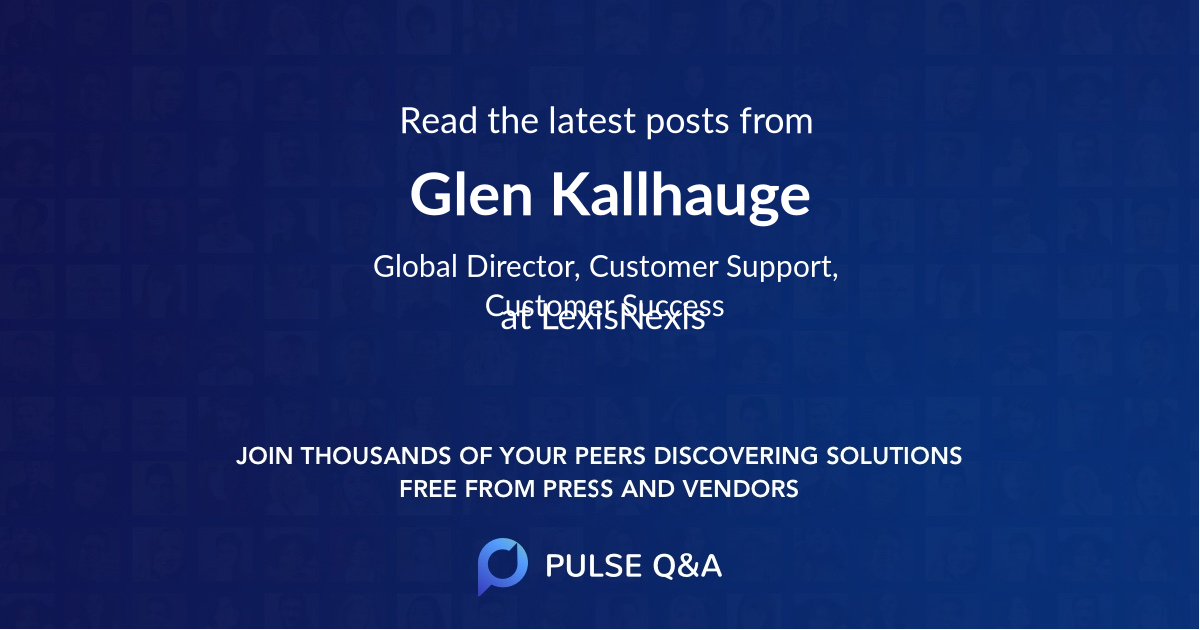 Glen Kallhauge