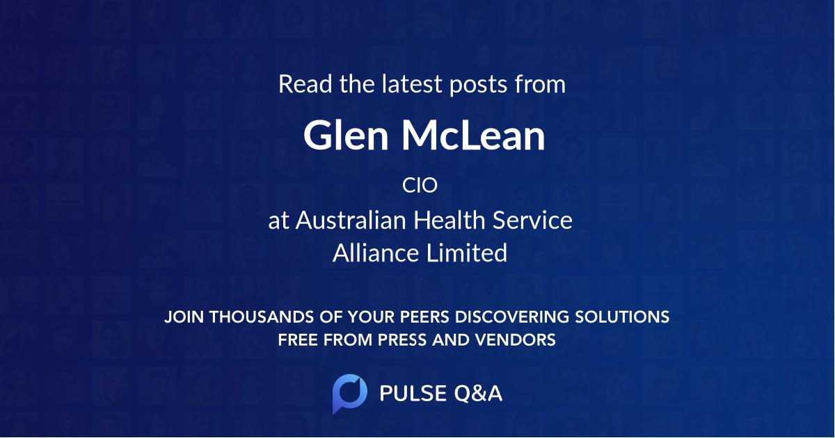 Glen McLean