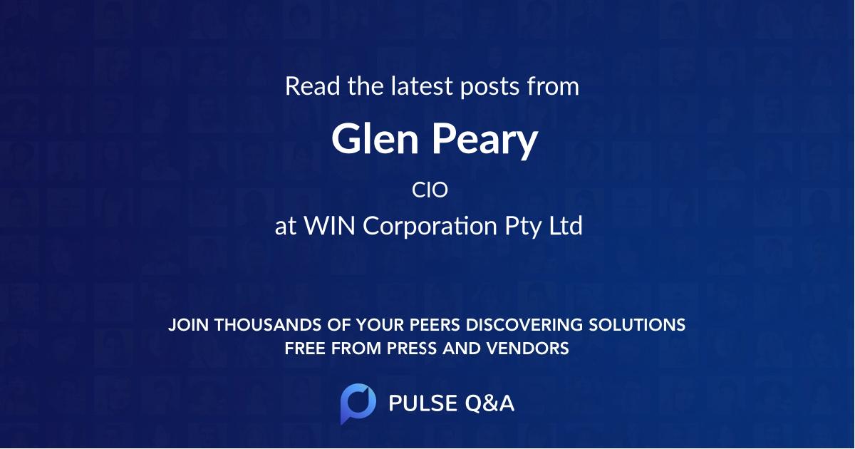 Glen Peary
