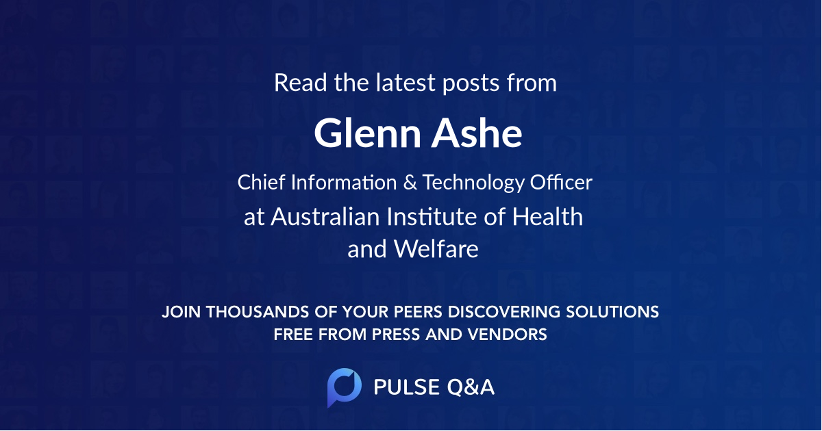 Glenn Ashe