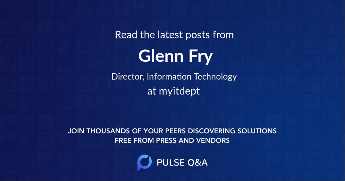 Glenn Fry