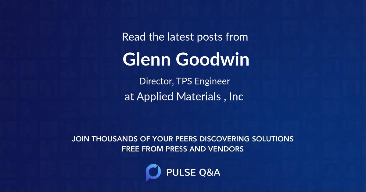 Glenn Goodwin