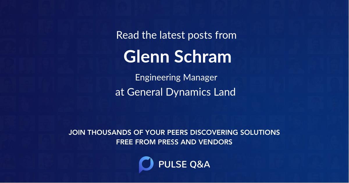 Glenn Schram