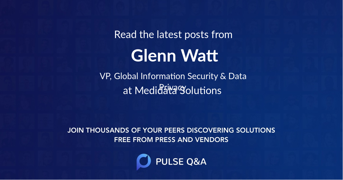 Glenn Watt