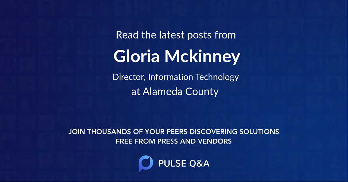 Gloria Mckinney