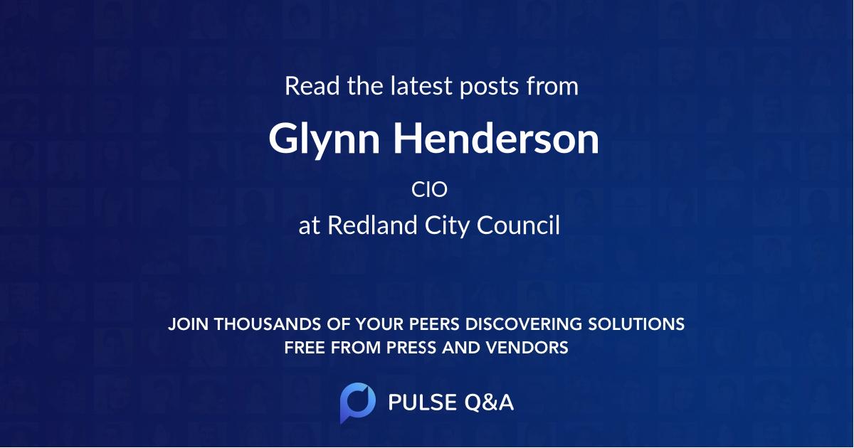 Glynn Henderson
