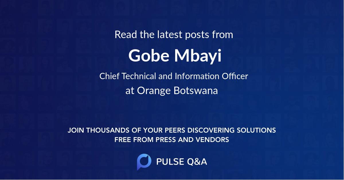 Gobe Mbayi