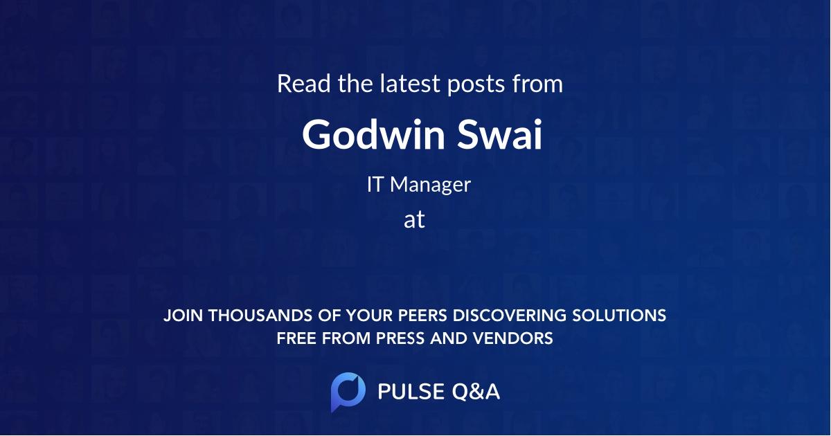 Godwin Swai