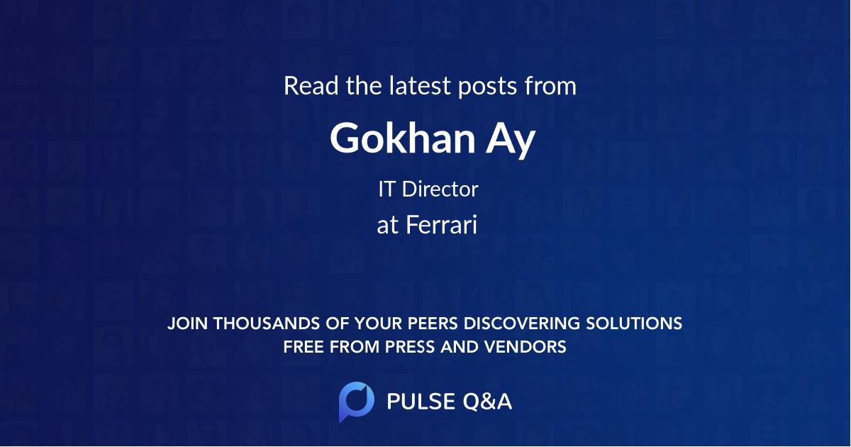 Gokhan Ay