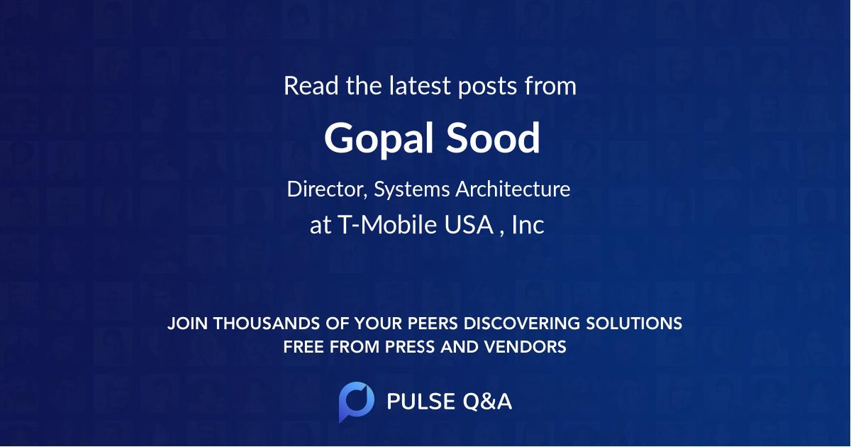 Gopal Sood
