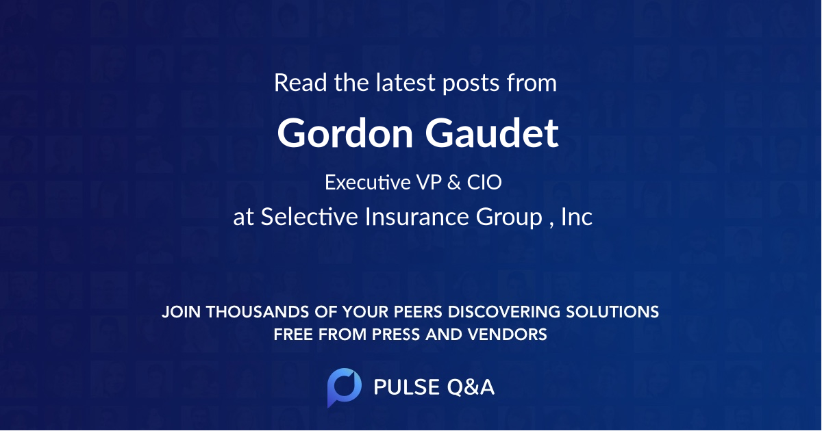 Gordon Gaudet