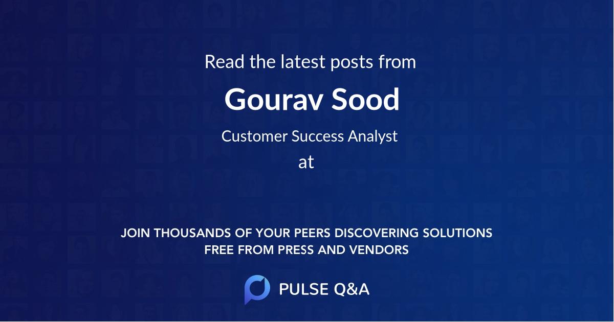 Gourav Sood