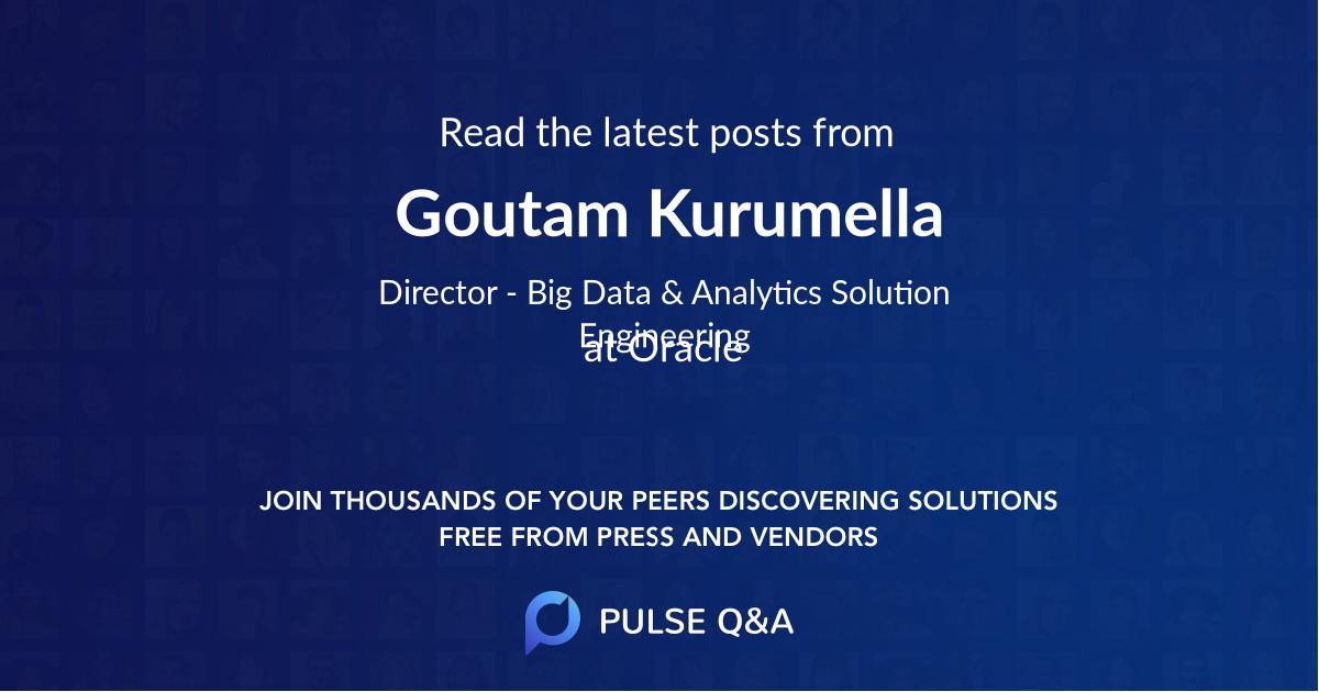 Goutam Kurumella