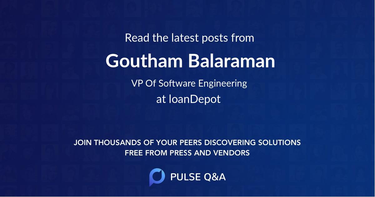 Goutham Balaraman