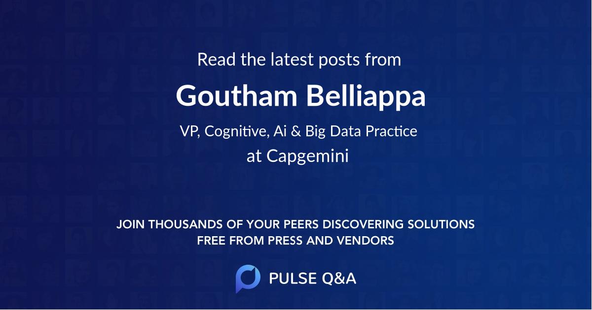 Goutham Belliappa