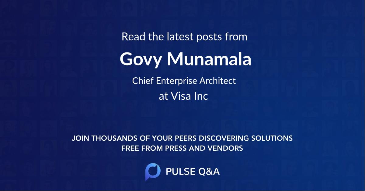 Govy Munamala