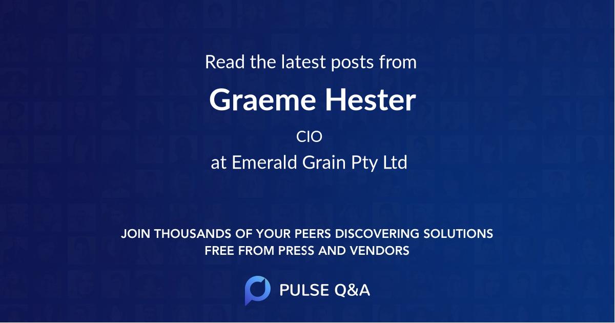Graeme Hester