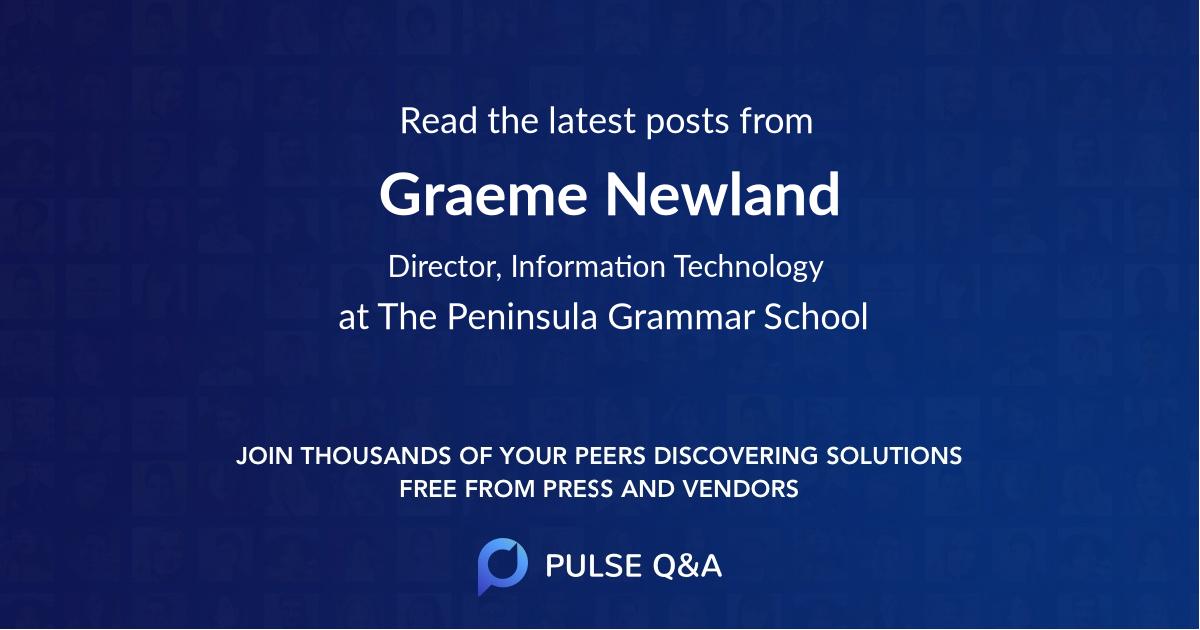Graeme Newland