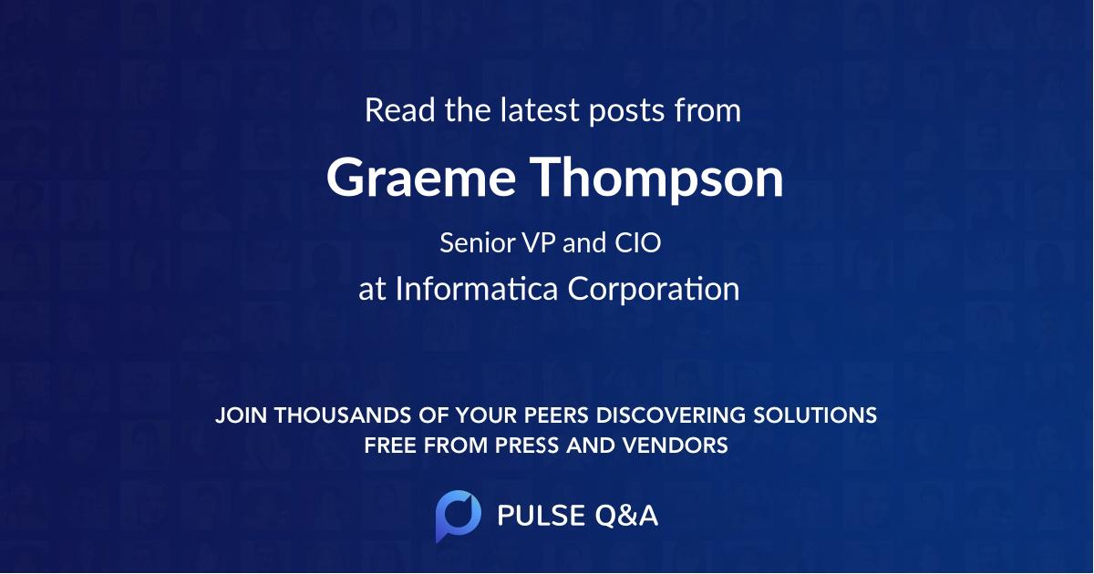 Graeme Thompson
