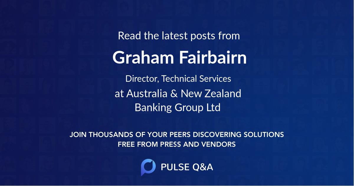 Graham Fairbairn