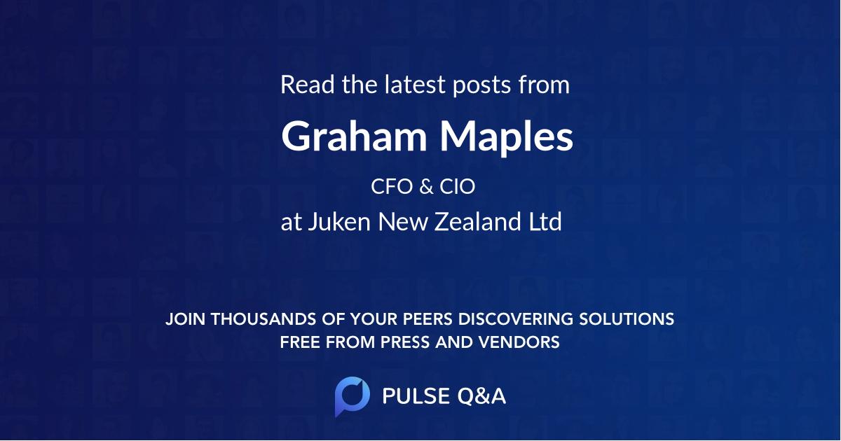 Graham Maples
