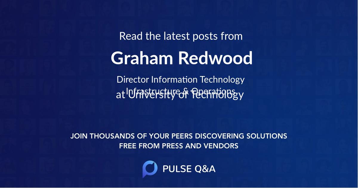 Graham Redwood