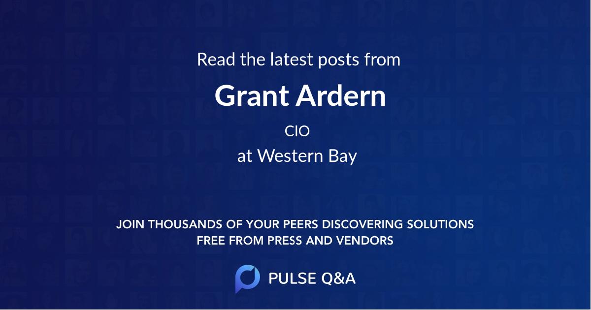 Grant Ardern
