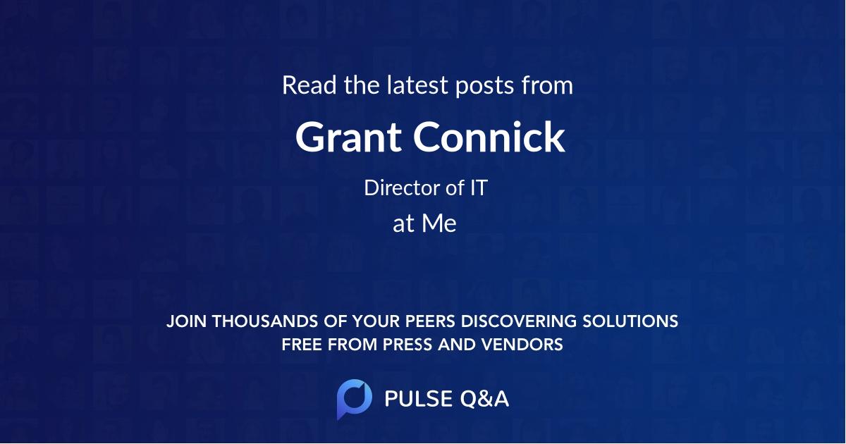 Grant Connick