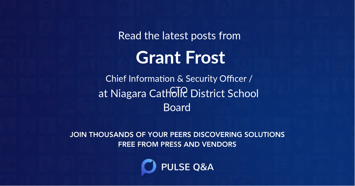 Grant Frost