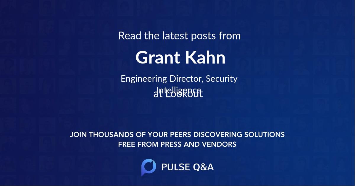 Grant Kahn