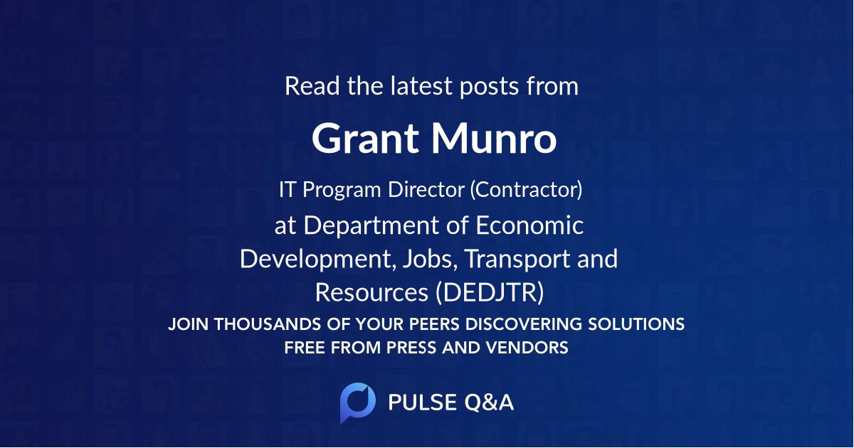 Grant Munro