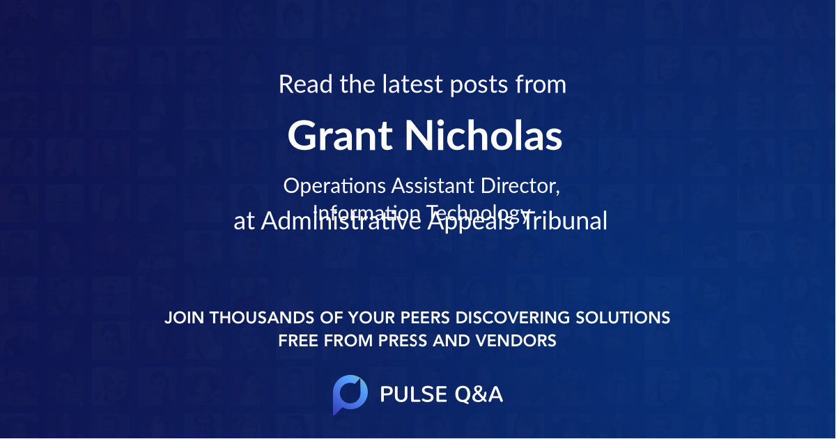 Grant Nicholas