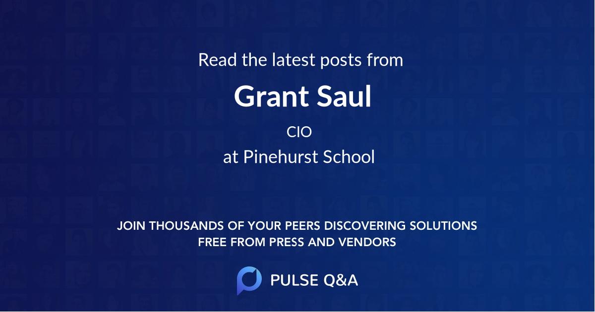 Grant Saul