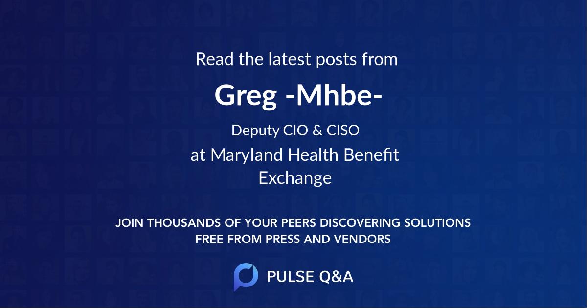 Greg -Mhbe-