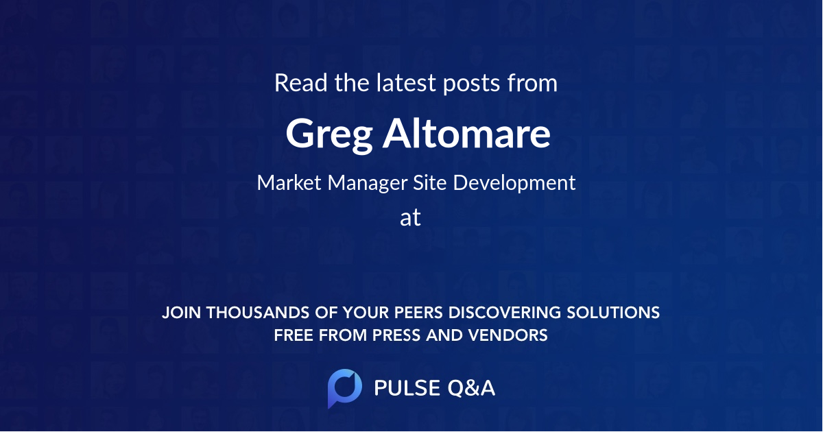 Greg Altomare