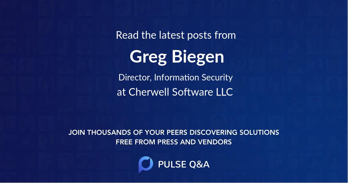 Greg Biegen