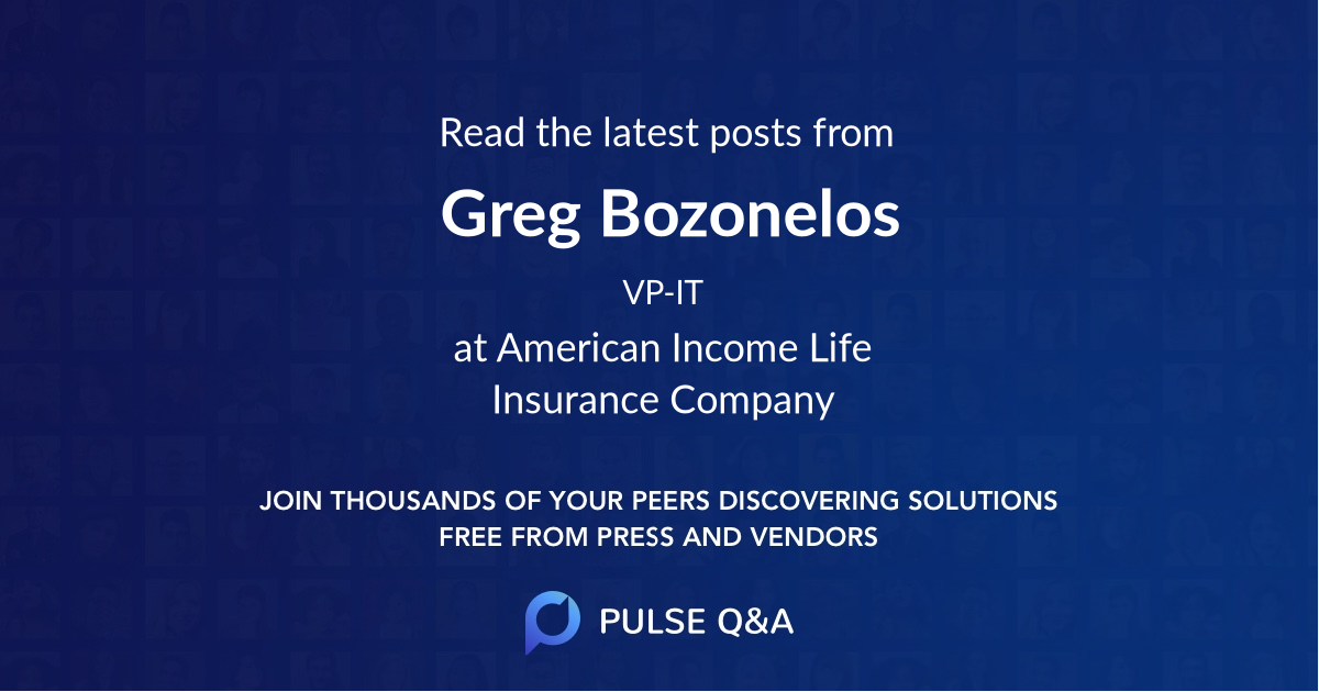 Greg Bozonelos