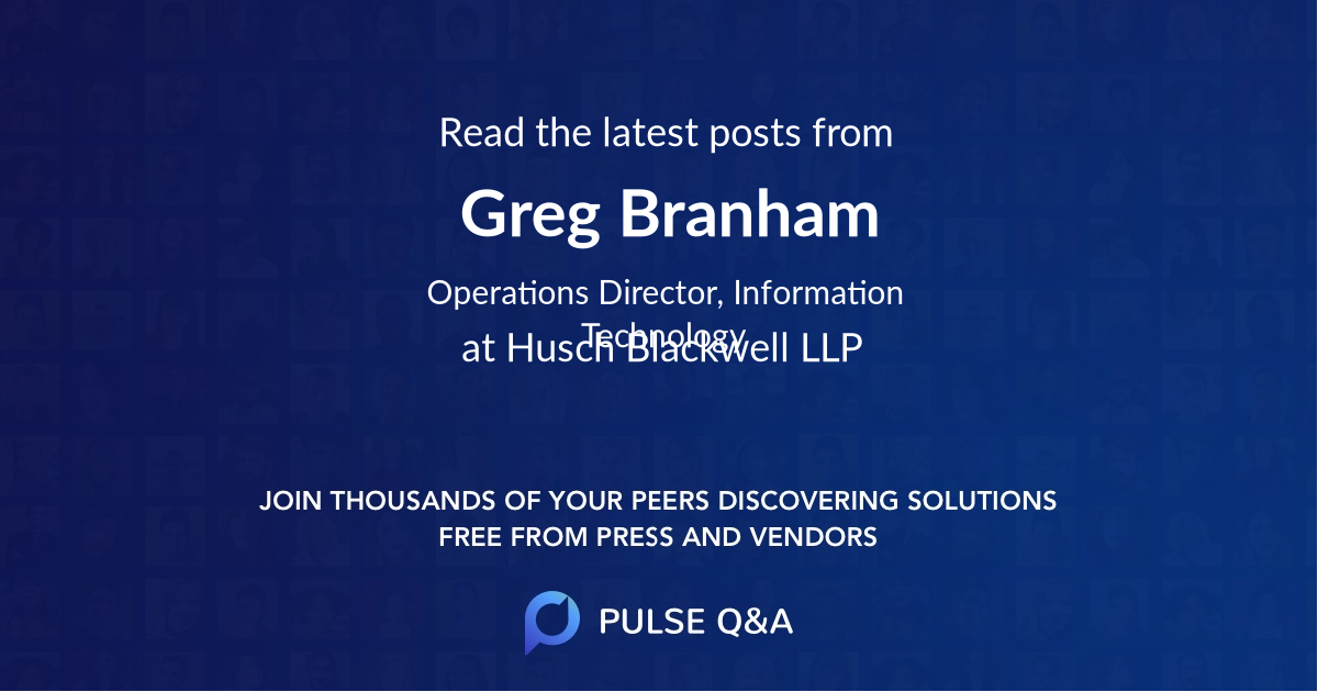 Greg Branham
