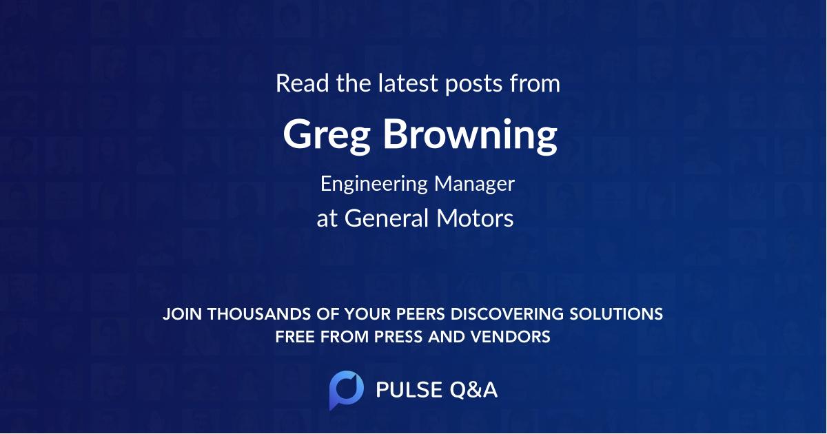 Greg Browning
