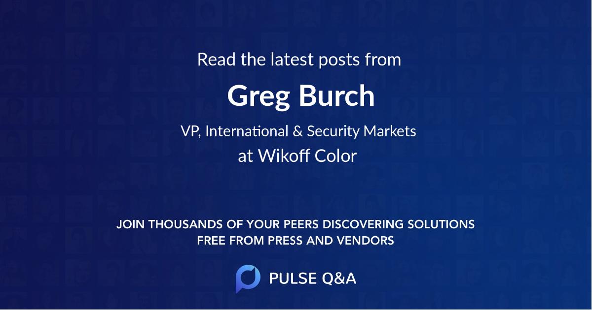 Greg Burch