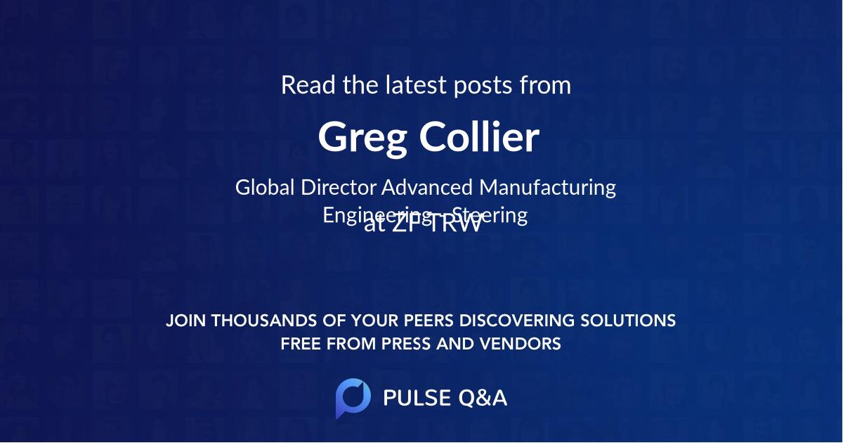 Greg Collier