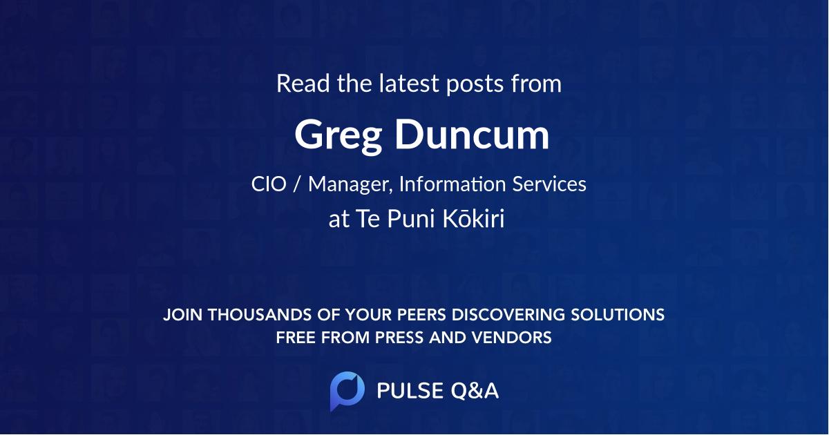 Greg Duncum