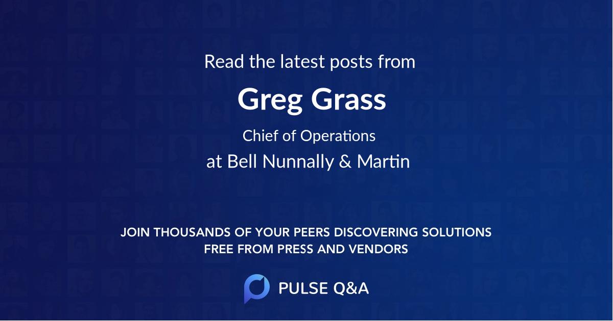 Greg Grass